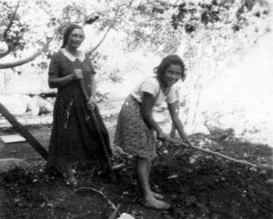 Dvora et Aviva en 1932