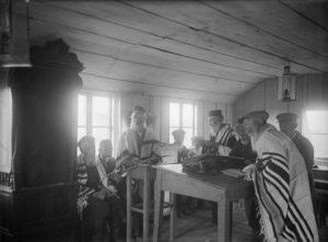 Synagogue à Nahalal dans les années 1930