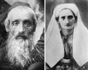 Haia et Abraham Dayan, grand-parents paternels de Moshé