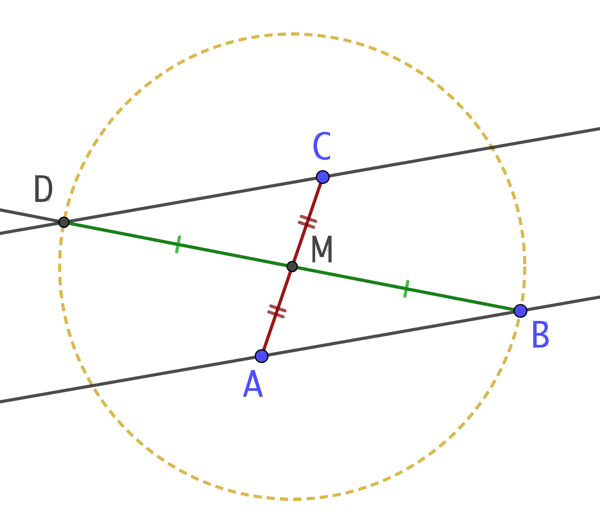 Droite parallèle à une droite (version 2)