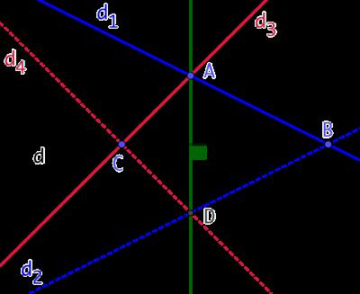 Perpendiculaire à la règle seule (seconde version)