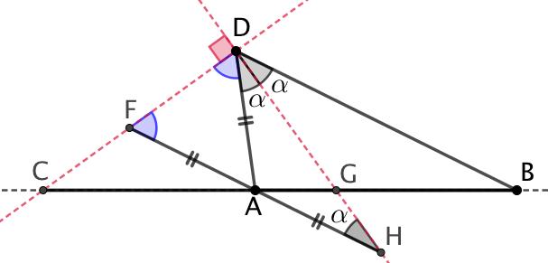 Bissectrices et division harmonique
