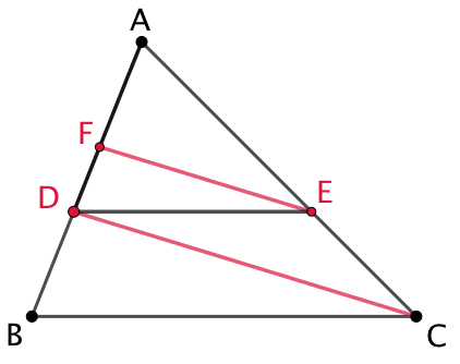 Thales et moyenne géométrique