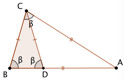 Triangles isocèles et semblables